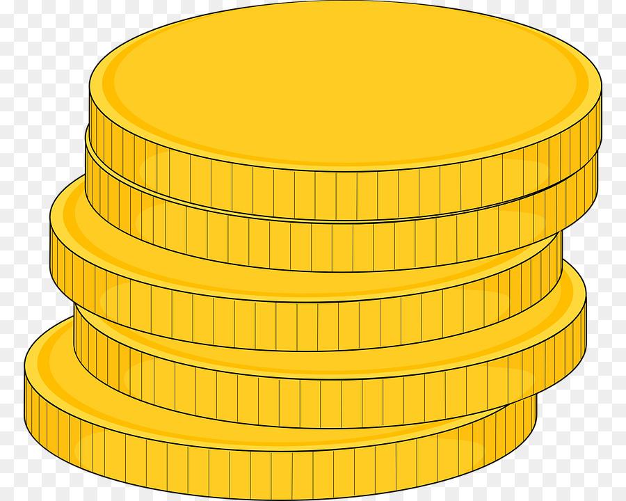 Arcade tokens clipart clip stock Line Cartoon clipart - Coin, Illustration, Yellow, transparent clip art clip stock