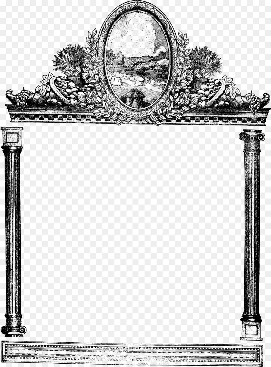 Arch frame clipart