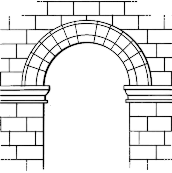 Arch clipart black and white image black and white download Free Arch Cliparts, Download Free Clip Art, Free Clip Art on Clipart ... image black and white download