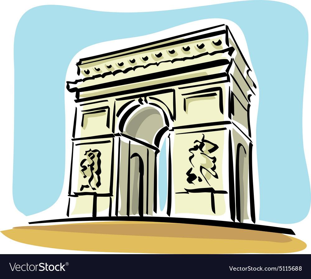 Arch de triomphe clipart clipart transparent library Paris arc de triomphe | Stock Images Page | Everypixel clipart transparent library