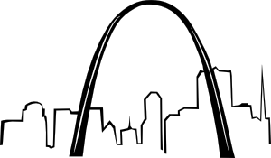 Gateway arch clipart banner freeuse library St Louis Gateway Arch clip art - vector clip art online, royalty ... banner freeuse library