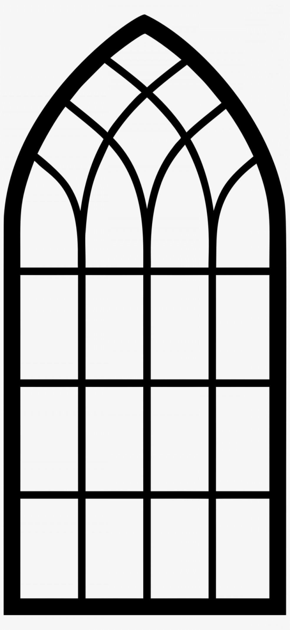Arch window clipart jpg library download Uqattieqchurch Window Arch Window Clipart Silhouette | CQRecords jpg library download