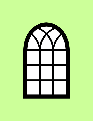 Arch window clipart clip window card | SVGs | Arched windows, Window cards, Windows clip