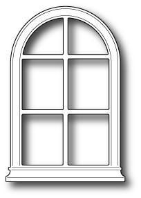 Arch window clipart vector library download Poppystamps Dies, Small Madison Arched Window | Scrapbook Printables ... vector library download