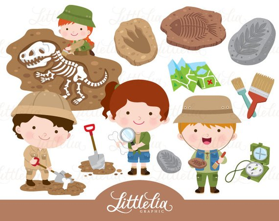 Archaeology clipart kid free clip black and white download Palaeontology clipart - archeology clipart - 16102   Products   Clip ... clip black and white download