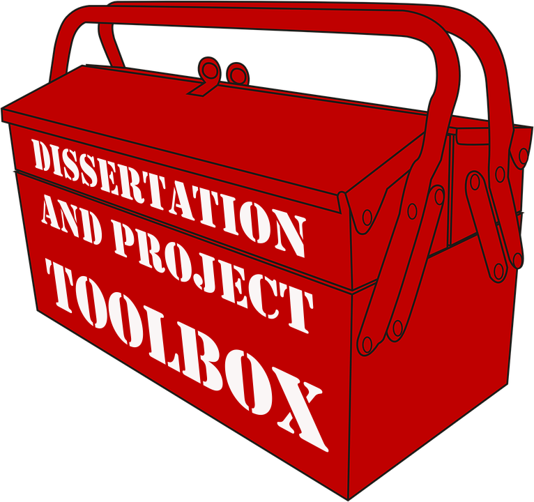 Archaeology toolbox clipart clipart black and white library Dissertation and Project Toolbox clipart black and white library