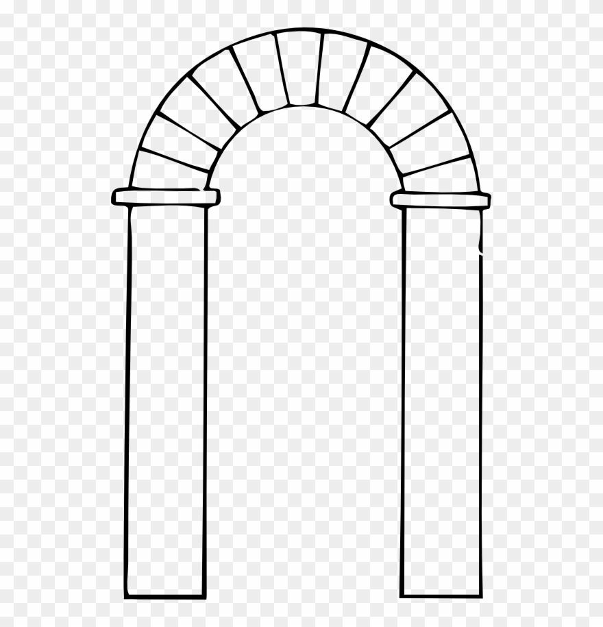 Arched door clipart picture download Black Clip Transparent - Door Arch Clipart - Png Download (#126721 ... picture download