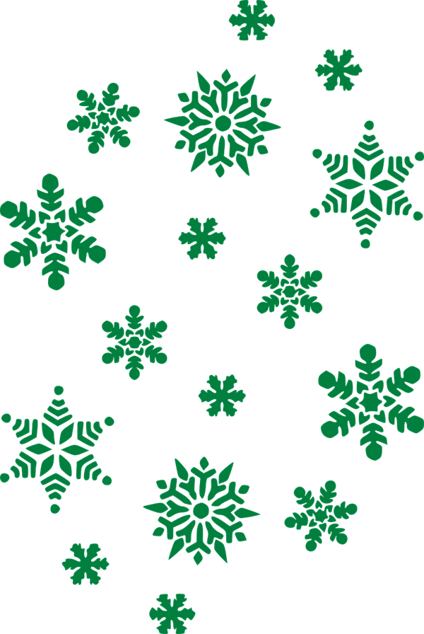 Green snowflake clipart clipart freeuse stock 28+ Collection of Green Snowflake Clipart Transparent Background ... clipart freeuse stock