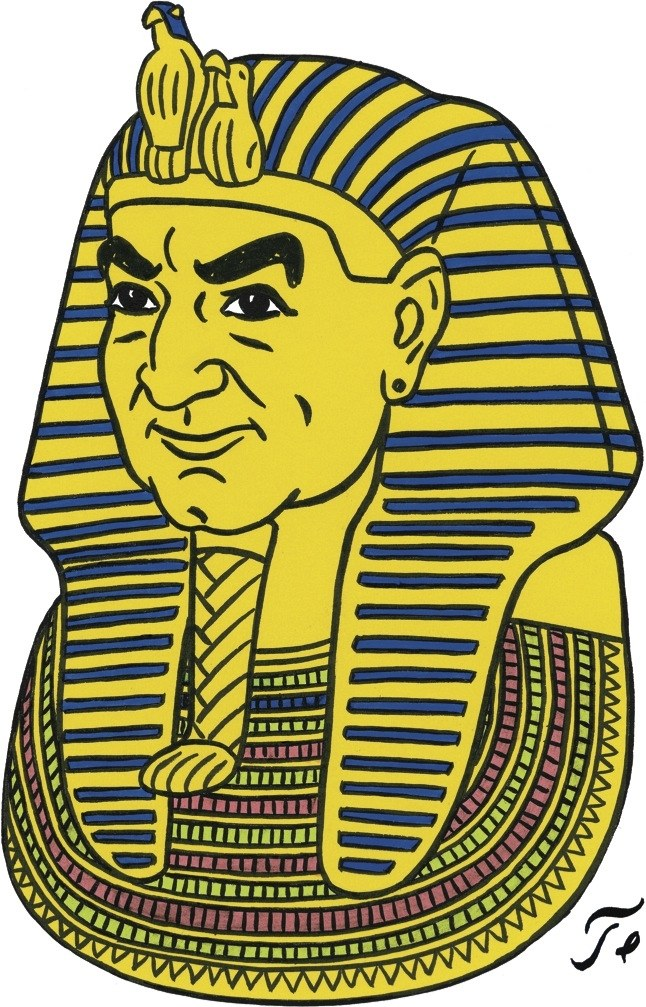 Archeology teachers girl clipart without copy rights banner free download The Pharaoh   The New Yorker banner free download