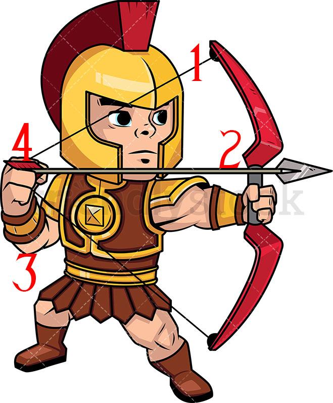 Archer jpg clipart image freeuse download Crap Archery: Clipart \