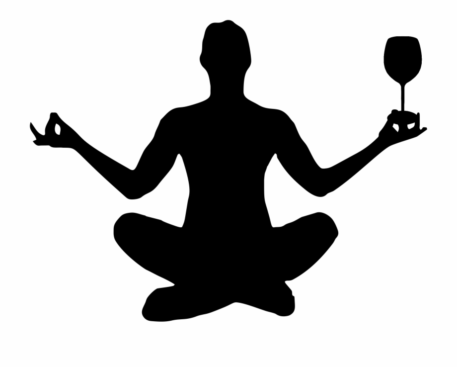 Archer pose body building clipart svg stock Yoga Pose Silhouette Meditation Free PNG Images & Clipart Download ... svg stock