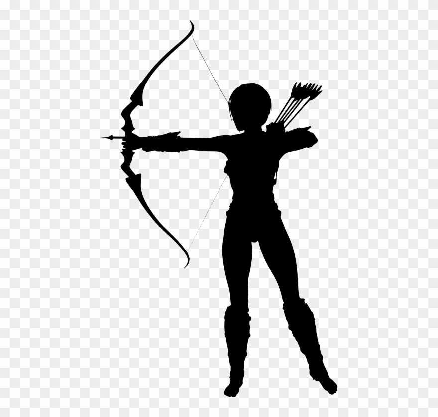 Archer silhouette clipart png Image Result For Warrior Woman Silhouette Clip Art - Archer ... png