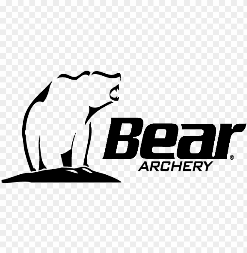 Archery bear clipart png black and white download archery clipart traditional archery - bear archery logo PNG image ... png black and white download