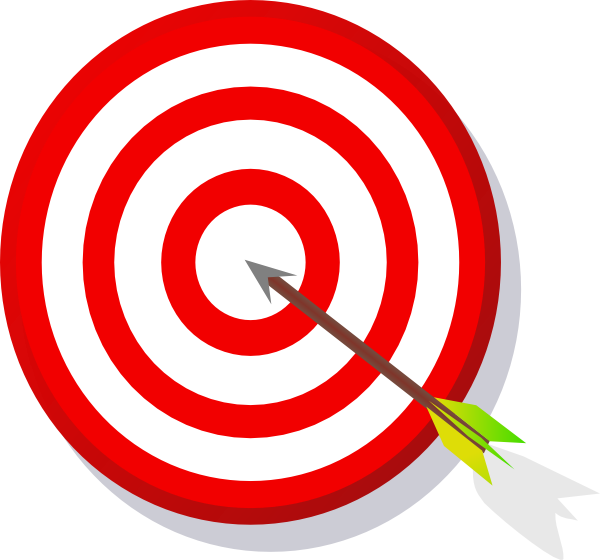 Free clipart bullseye picture black and white Free Archery Bullseye Cliparts, Download Free Clip Art, Free Clip ... picture black and white