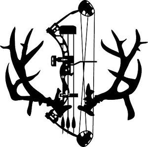 Archery hunting clipart graphic black and white stock Free Bowhunting Arrow Cliparts, Download Free Clip Art, Free Clip ... graphic black and white stock