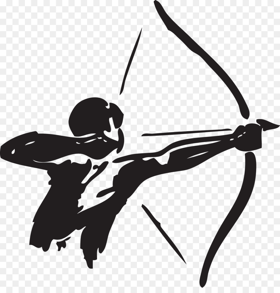 Archery hunting clipart clip art library download Bow And Arrow clipart - Archery, Hunting, Illustration, transparent ... clip art library download
