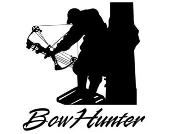 Archery hunting clipart image black and white library Bow Hunting Clipart - Clipart Kid | wood burning | Bow hunter, Bow ... image black and white library