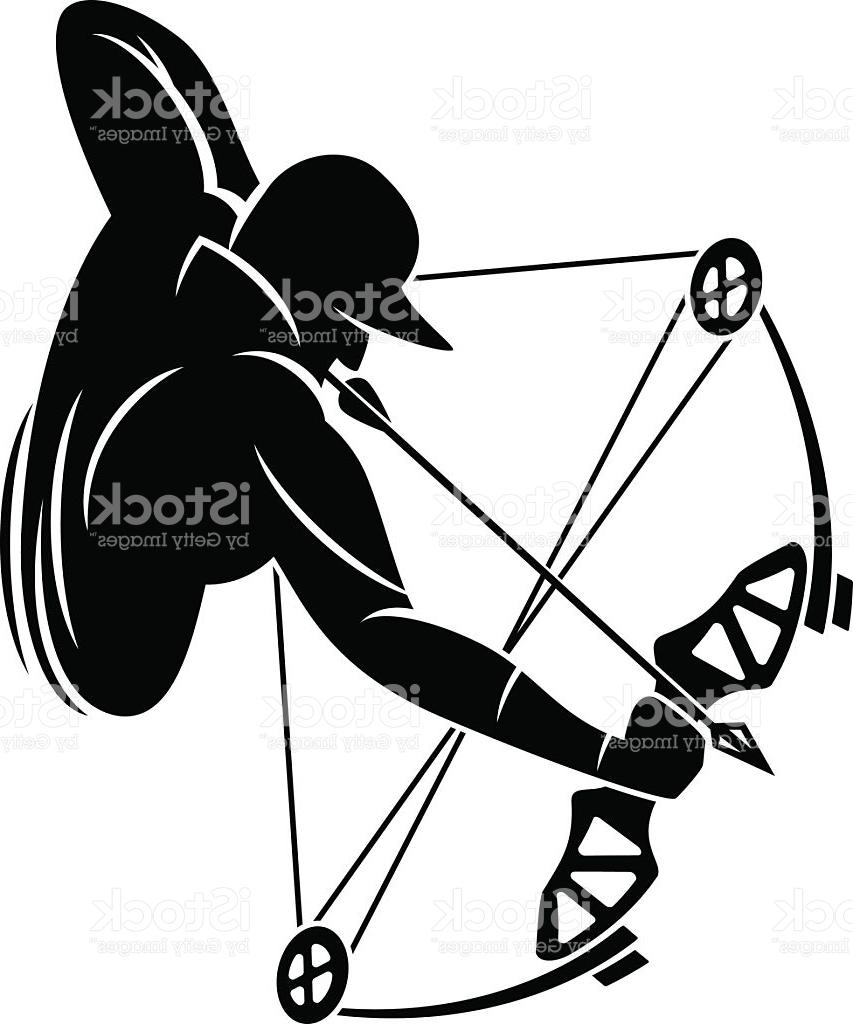 Archery hunting clipart clip art freeuse download Hunting Clipart Black And White | Free download best Hunting Clipart ... clip art freeuse download