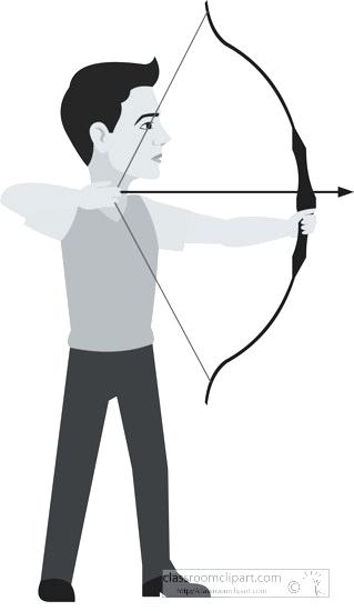 Archery man clipart vector free library bow down clipart – chickencounting.com vector free library