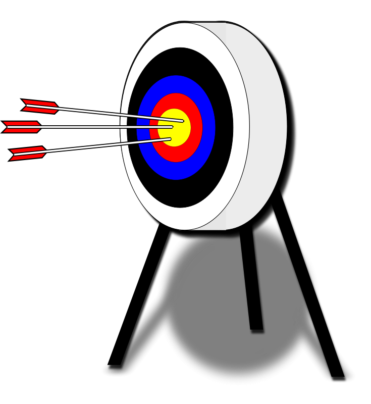 Free archery clipart images clipart download Free Clipart: Archery Target   algotruneman clipart download