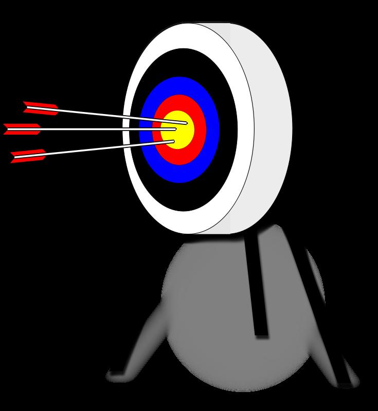 Clipart archery target