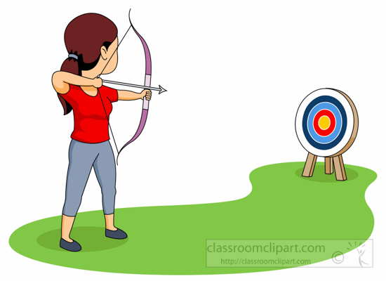 Free clipart of a target with people jpg royalty free library Collection of Archery clipart | Free download best Archery clipart ... jpg royalty free library