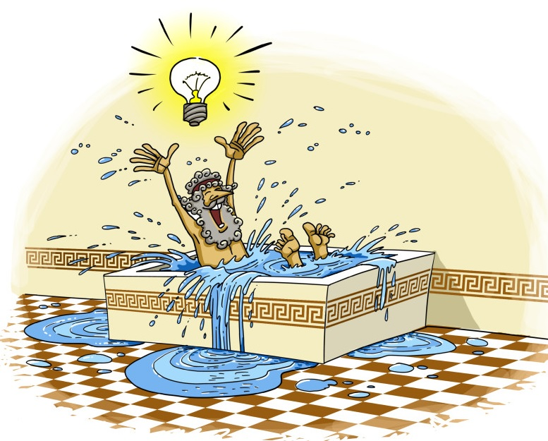 Archimedes eureka clipart