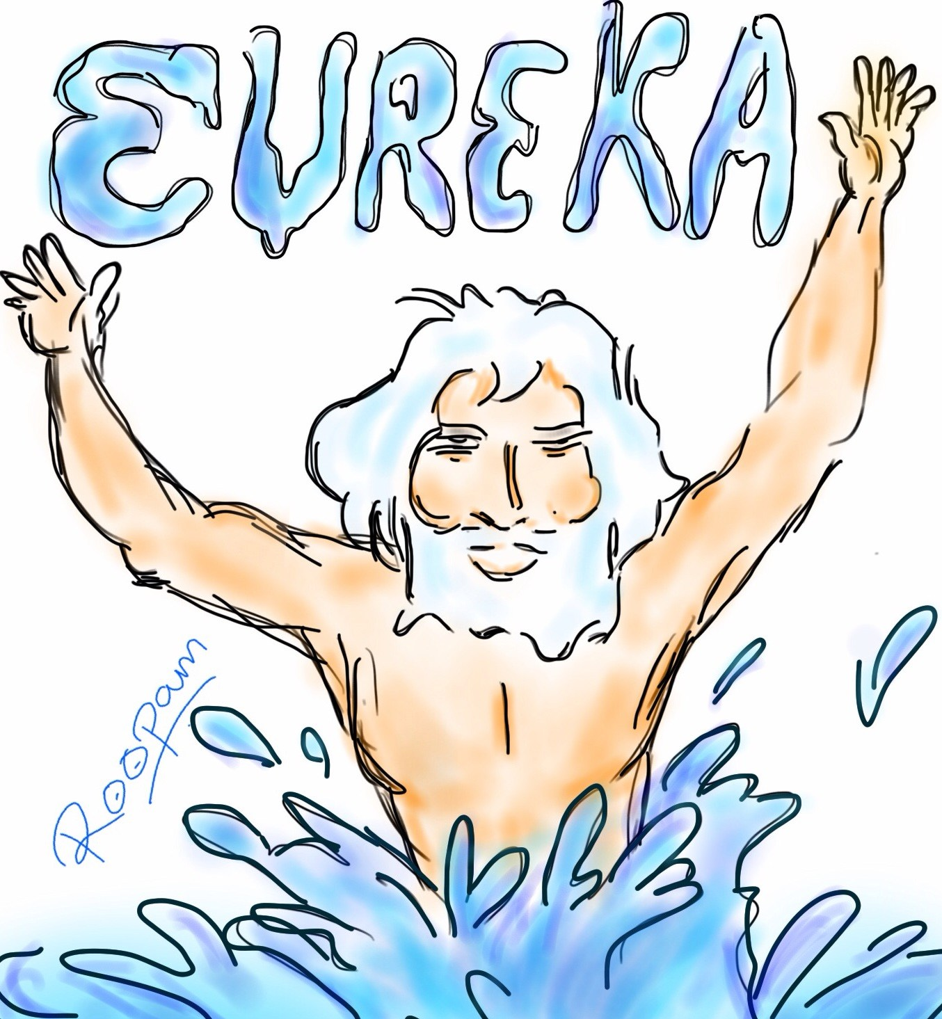 Archimedes eureka clipart clipart stock The Beauty of π (Pi) - Iterative Calculation – YOU CANalytics- clipart stock