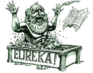 Archimedes eureka clipart svg freeuse stock Philosophy of Science Portal: EUREKA! or \