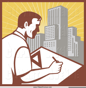 Architect clipart royalty free clip stock Architect Careers Clipart   Free Images at Clker.com - vector clip ... clip stock