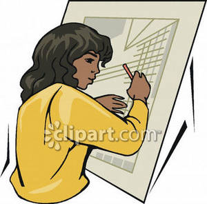 Architect clipart royalty free free African American Female Architect Royalty Free Clipart Picture free