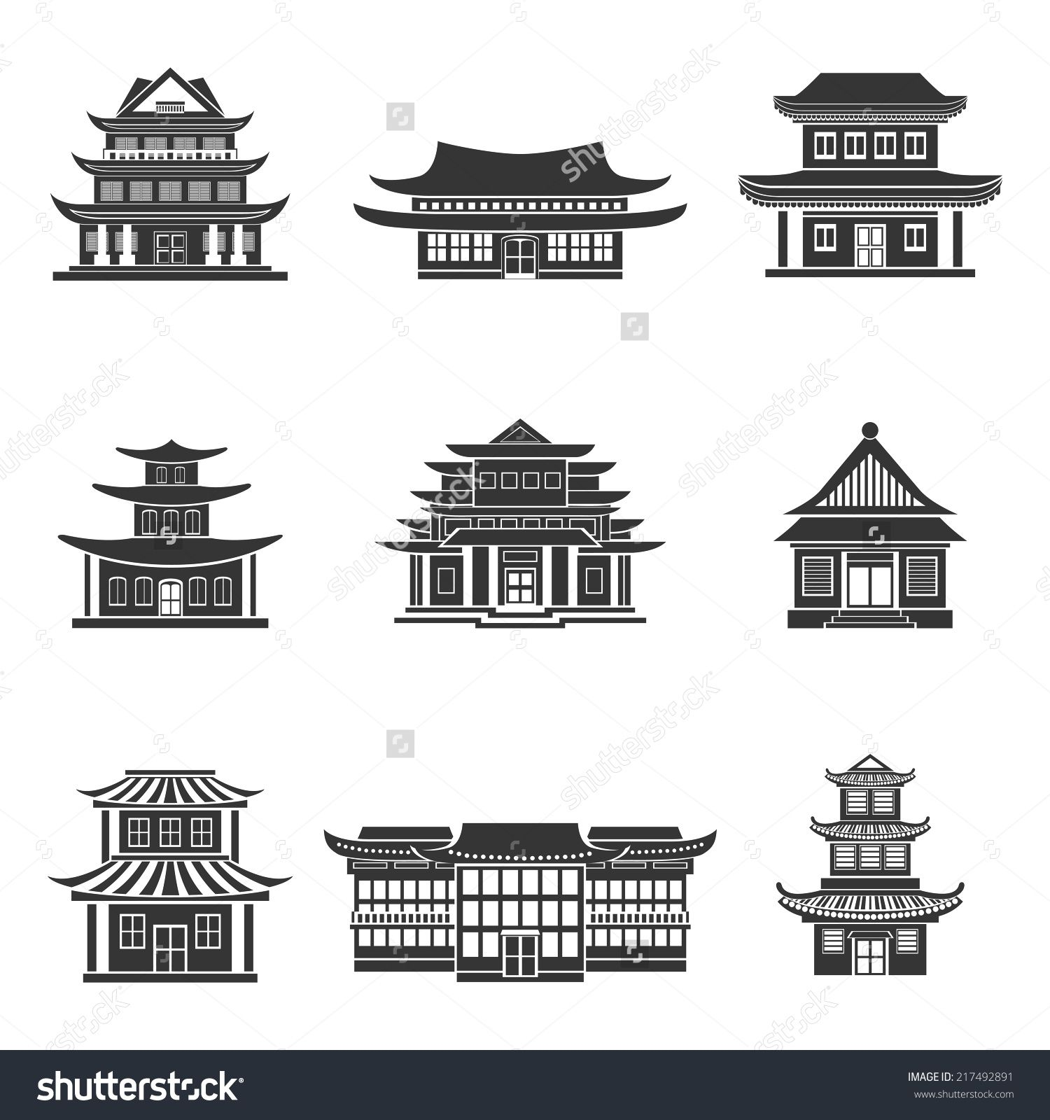 Ancient civilization house clipart graphic library library Pagoda clipart chinese house #4 | Art Ideas in 2019 | Chinese ... graphic library library