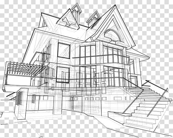 Architecture background clipart clip art freeuse download Architectural drawing Eames House Architecture Building, building ... clip art freeuse download
