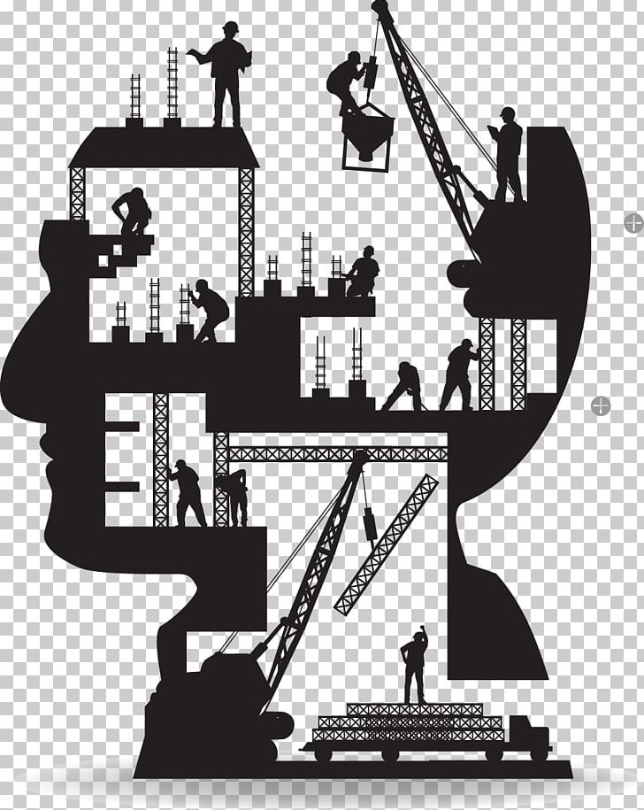 Architecture black and white clipart clip art library stock Architectural Engineering Building Construction Worker Silhouette ... clip art library stock