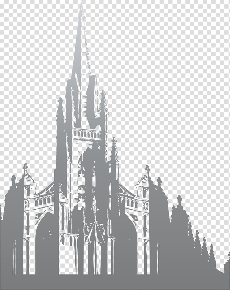 Architecture black and white clipart clipart transparent download Black and white Building Silhouette Architecture, Building ... clipart transparent download
