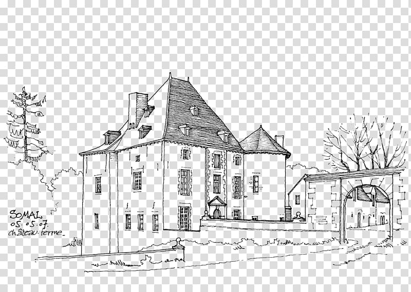 Architecture black and white clipart graphic royalty free stock Architecture, Building Artwork transparent background PNG clipart ... graphic royalty free stock