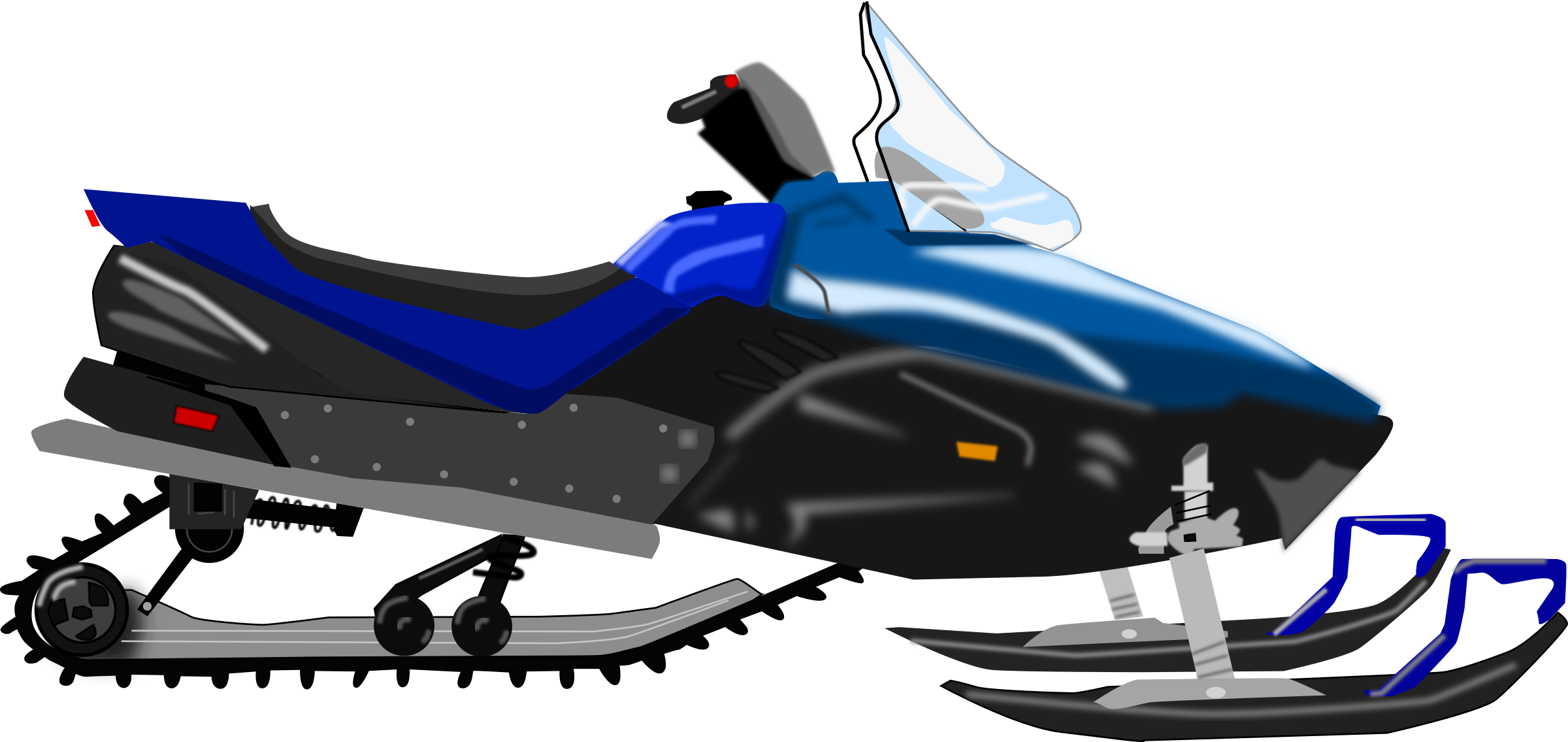 Arctic cat snowmobile clipart graphic transparent library Clipart - Snowmobile graphic transparent library