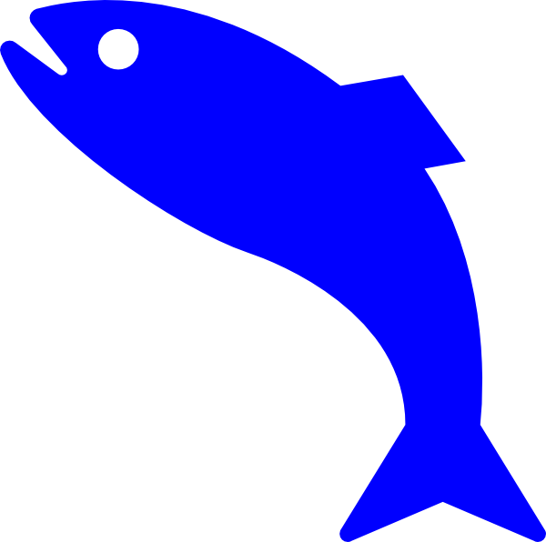 Arctic fish clipart vector free Blue Fish Clip Art at Clker.com - vector clip art online, royalty ... vector free