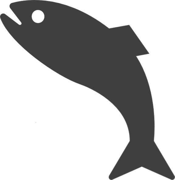 Dolphin fish jumping clipart clip free stock Dark Gray Jumping Fish Clip Art at Clker.com - vector clip art ... clip free stock