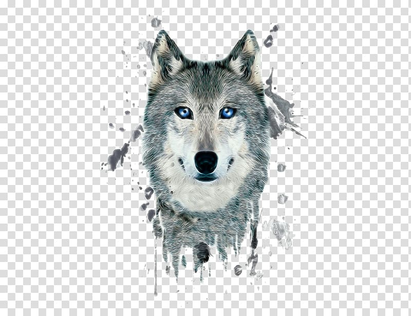 Arctic wolf head clipart clipart royalty free Gray and white wolf head illustration, Arctic wolf Poster Black wolf ... clipart royalty free