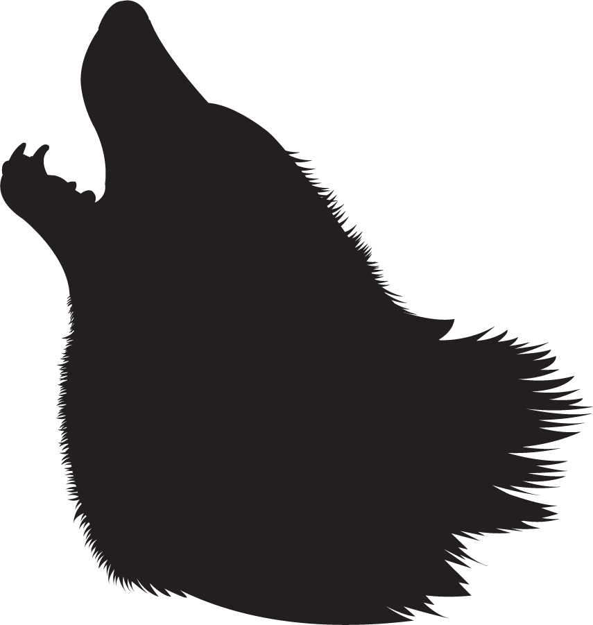 Arctic wolf head clipart picture stock Wolf Head Outline | Free download best Wolf Head Outline on ... picture stock