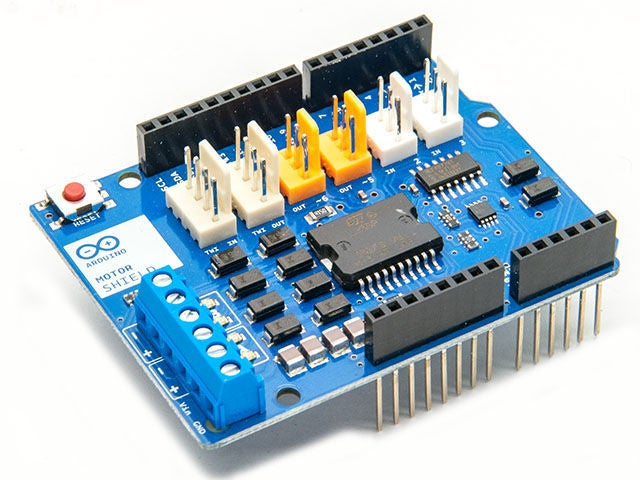 Arduino motor shield clipart svg freeuse download arduino Motor Shield] Line Following Robot (FC-51): 3 Steps svg freeuse download