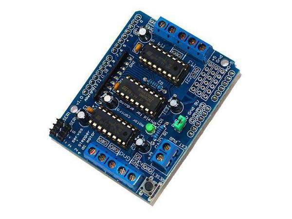 Arduino motor shield clipart jpg black and white BSK DC MOTOR SHIELD L293D 1.2A jpg black and white