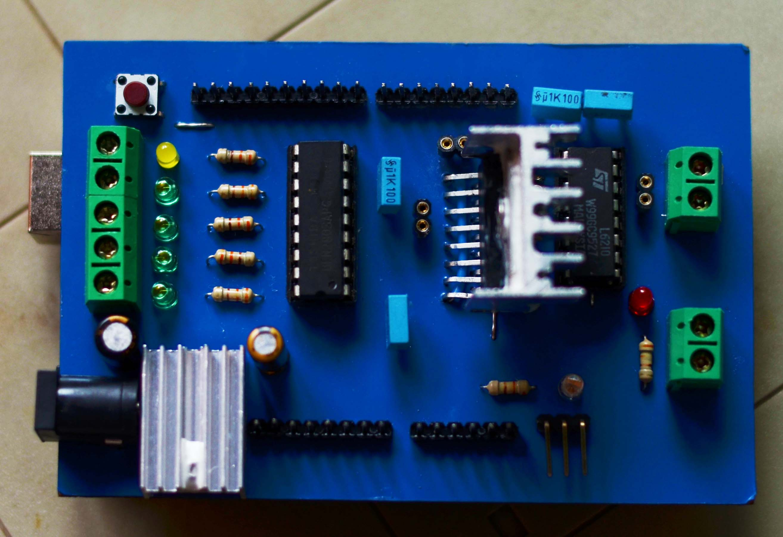 Arduino motor shield clipart graphic transparent library Arduino e Companhia: ARDUINO MOTOR SHIELD graphic transparent library