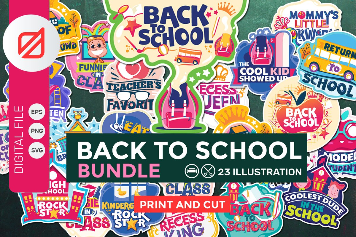 Are clipart files good for printing image freeuse library Back to School Bundle Clip-art Print image freeuse library