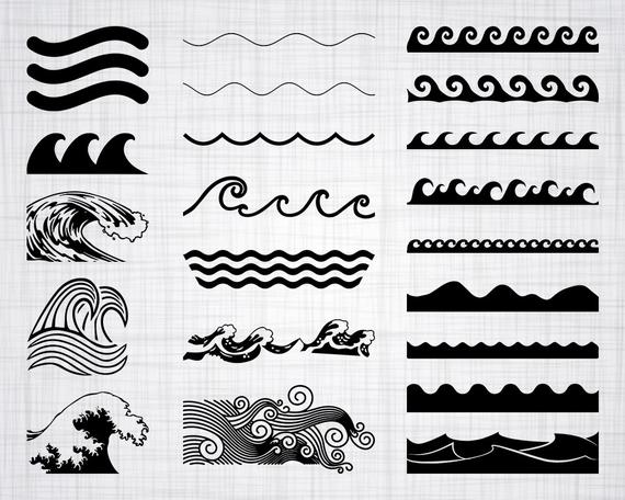 Wave check clipart