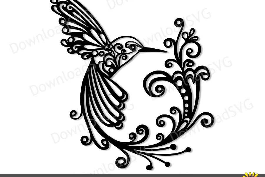 Svg clipart cut files jpg freeuse SVG and PNG cutting files, Hummingbird, Clipart, Vector jpg freeuse
