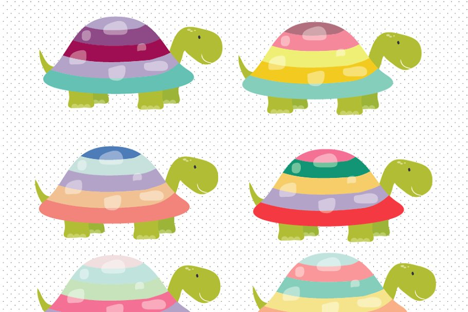 Turtels clipart graphic free stock Cute Turtles Clipart graphic free stock