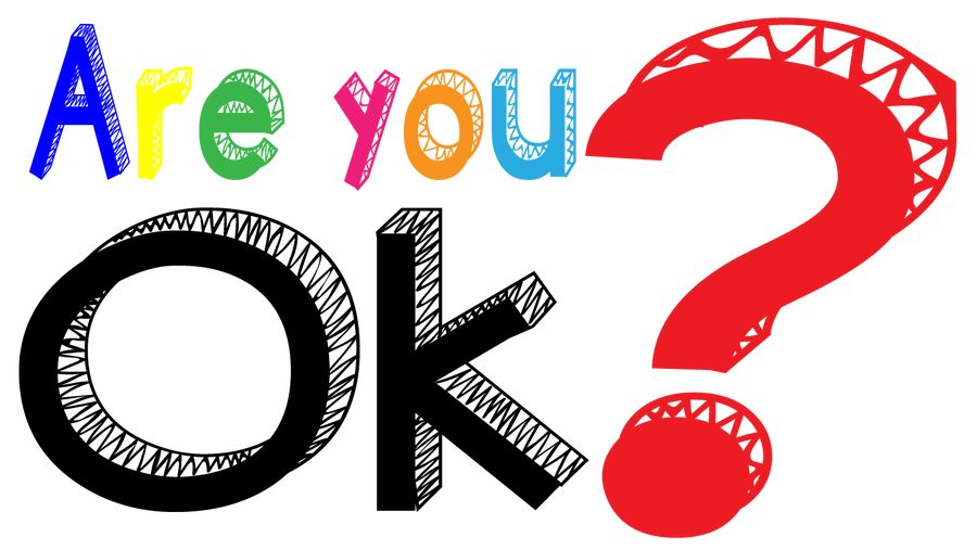 Are you ok clipart png black and white library Entry #19 by varunaparsan for \'Are you ok?\' logo design | Freelancer png black and white library