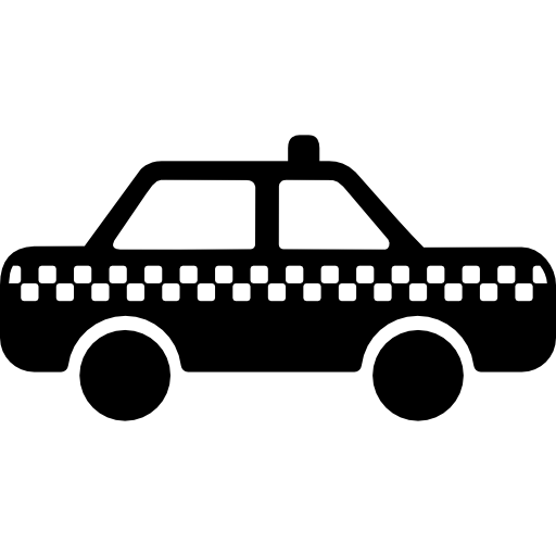 Areal taxi clipart transparent image library download Taxi urban transport Icons | Free Download image library download